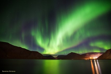 The inevitable return of the Northern Light (photo by V.Zhiganov)