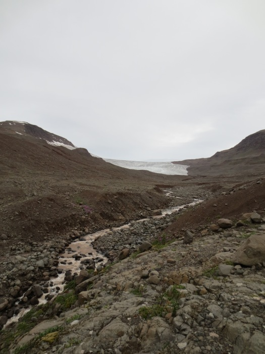 Chamberlain Glacier, a.k.a. the Gravel Factory