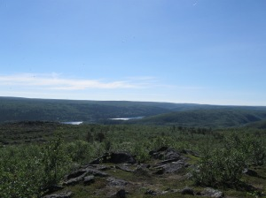 View on Finnish Lapland
