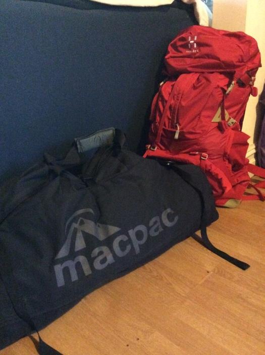 Kathryn's luggage!