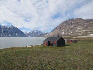 The Zackenberg trapping station we stayed in